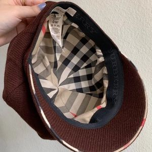 Authentic Burberry Hat/Cap Size Small